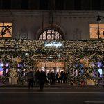 5th Ave. Christmas window displays