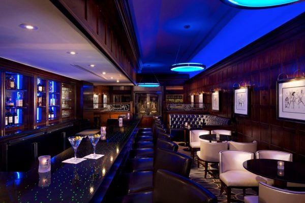 Blue Bar at the Algonquin
