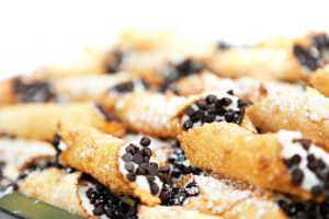 Cannolis, a tasty treat found while walking in Little Italy, NYC.