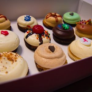 Cupcakes in box