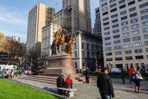 Central Park grand army plaza