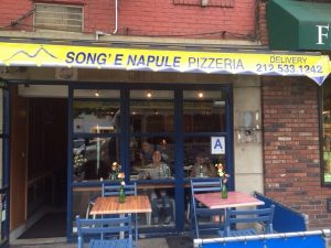 Song'E Napule Pizzeria NYC