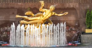 Rockafellar Statue, NYC
