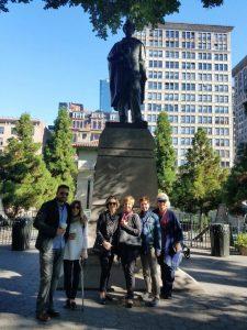 Union Square group photo