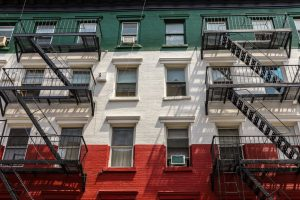 soho colored wall