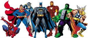 and more superhero