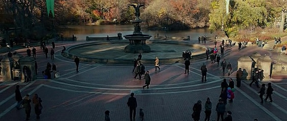 bethesda fountain john wick