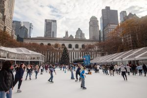 bryant park new york winter