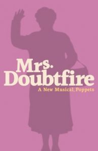 Mrs. Doubtfire playbill