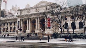 New York City in February
